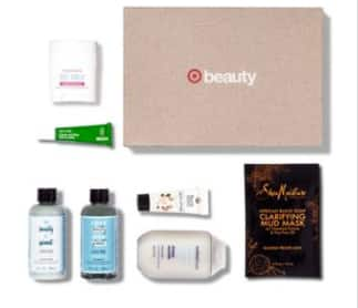 Get 4 Target Beauty Boxes (5 to choose from) and 1 e.l.f. Lip Lacquer -  PLUS a $10 Gift Card for $30. REDcard Holders-additional 5% and Free Shipping