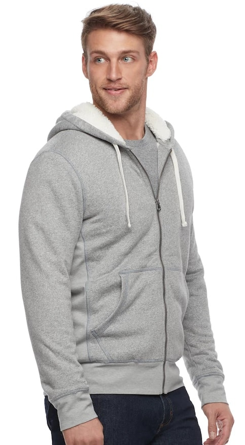 Kohls Cardholders: Men-80% off Plus Addt'l 30% off & Free Ship W/Codes. Highly Rated Classic-Fit Supersoft Fleece Hoodie-$11.20.  Croft & Barrow Outdoor Quilted Vest-$6.30