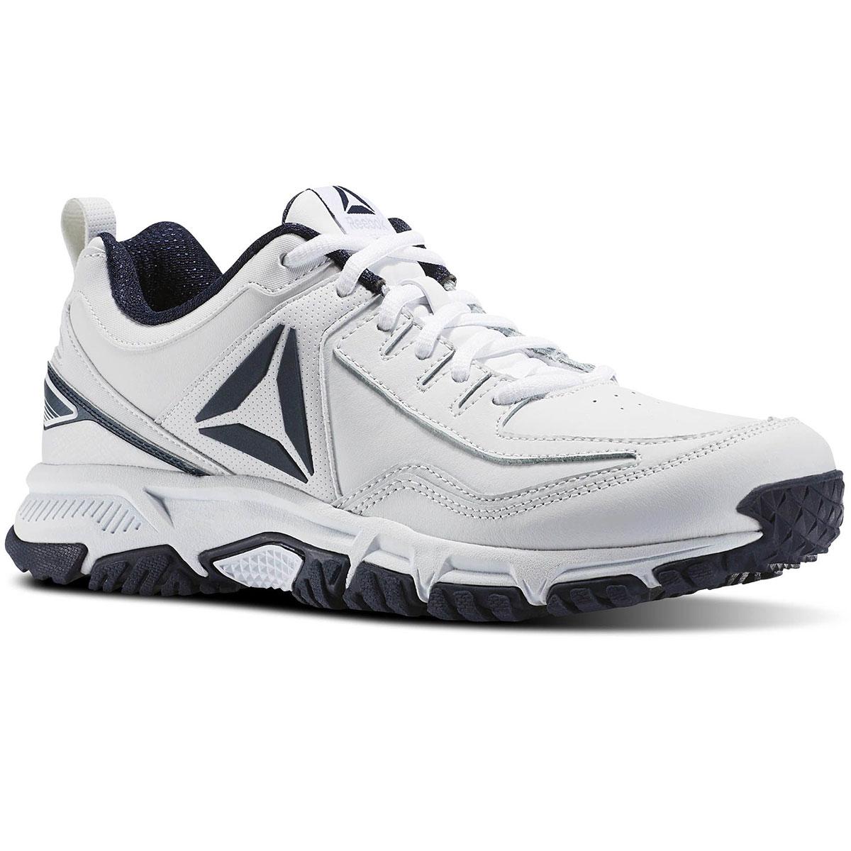 KohlsCardholders:Reebok Ridgerider Men's Leather Training Shoes - $16.79. Black-7, 10.5, 13, 8 4E,13 4E, 14 4E  or White w/Navy-7.5, 8, 8.5, 10.5, 11, 13 & 13 4E