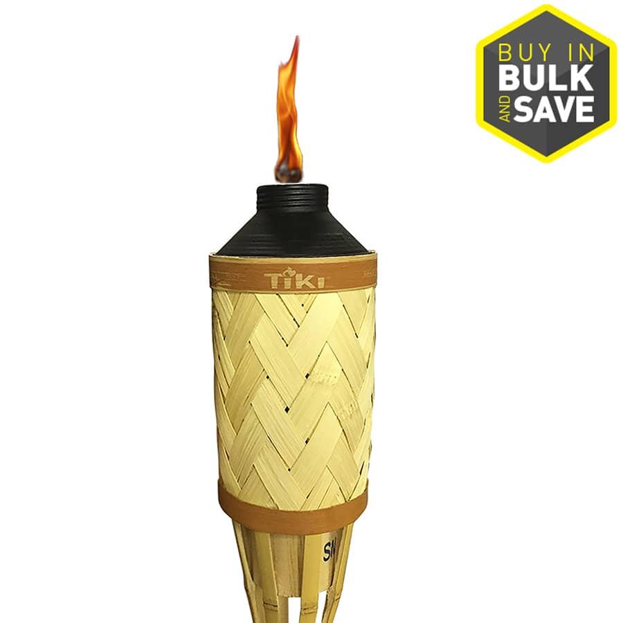 Lowes has TIKI 57-in Royal Sands Bamboo Citronella Garden Torch on Sale for $2.50