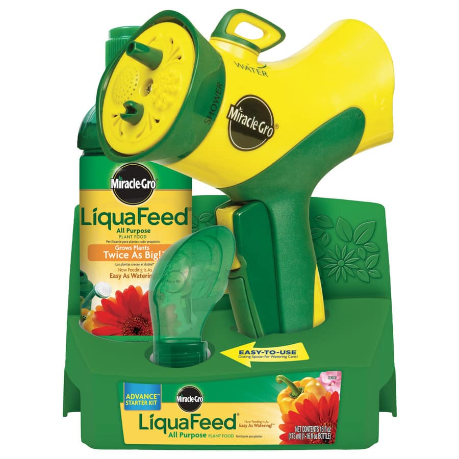 Lowes has Miracle-Gro LiquaFeed Advanced Starter Kit 1 Count All Purpose Food on Sale at 50% off for $5.84