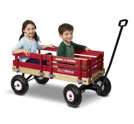 Target: Radio Flyer® All-Terrain Wagon - $85.49. Free Ship. REDcard Holders receive additional 5% off.