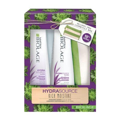 Matrix Biolage 2-pc. Shampoo & Conditioner Value Sets + Free Cosmetic Bag $16.99 @ JCPenney. Choice of Hydrasource - Smoothproof - Colorlast or Volume Bloom