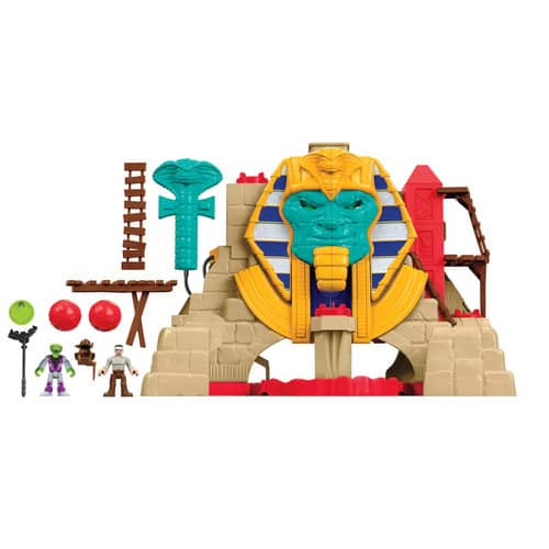 Fisher-Price Imaginext Serpent Strike Pyramid $14.99. LEGO Ideas Adventure Time $14.99. Gymnastics Adventure Dora $4.99. Monster High Deluxe Bus $22.49 & More. Kohls