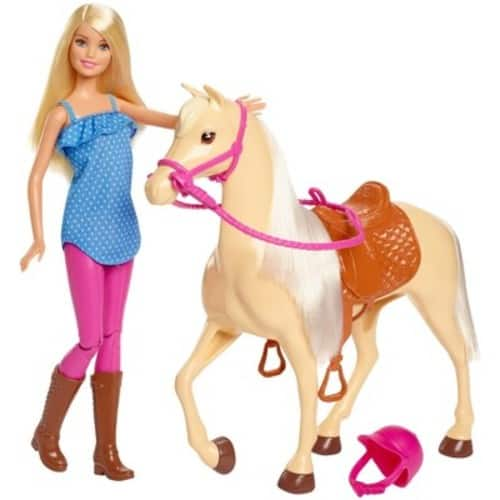 Target: Barbie Doll & Horse-Blonde $13.75, Barbie Fashionistas Dolls(5) $4.40-$5,Crayola Rainbow Fruit Surprise Doll & Fashions $9.35,Pink Passport 3-Story Townhouse $53.90 & MORE
