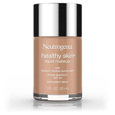 Neutrogena Healthy Skin Liquid Makeup Foundation Broad Spectrum Spf 20, Deep Tones - Chestnut and Cocoa $3.06 with 5% REDcard Discount.  Free Ship To Store