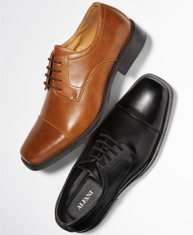 Macys: Alfani Men's Seth Bike Toe Derbys OR Adam Cap Toe Oxford, Club Room Men's Shiloh Buck Dress Shoes $19.99. Free Ship @ $49 or Free In Store Pick up.