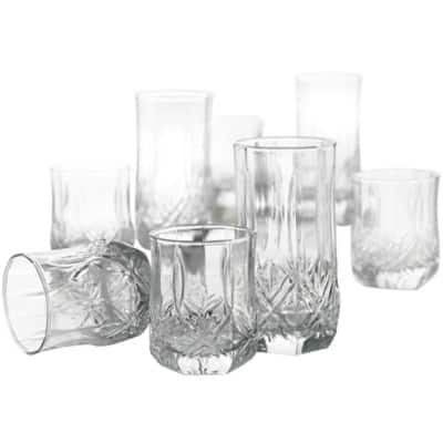 JCPenney: Glassware Sets: 16-pc Luminarc Brighton or Sterling Glassware Sets $18