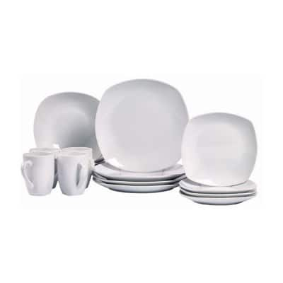 JCPenney:16-pc.Dinnerware Sets-Tabletops Unlimited Porcelain Soleil Round Rim or Quinto Square $22.50. Pfaltzgraff 16-pc. Dinnerware Set $27.