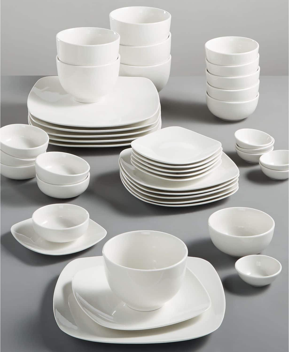 Gibson and White Elements 42 Piece Dinnerware Sets, $39.99 @ Macys
