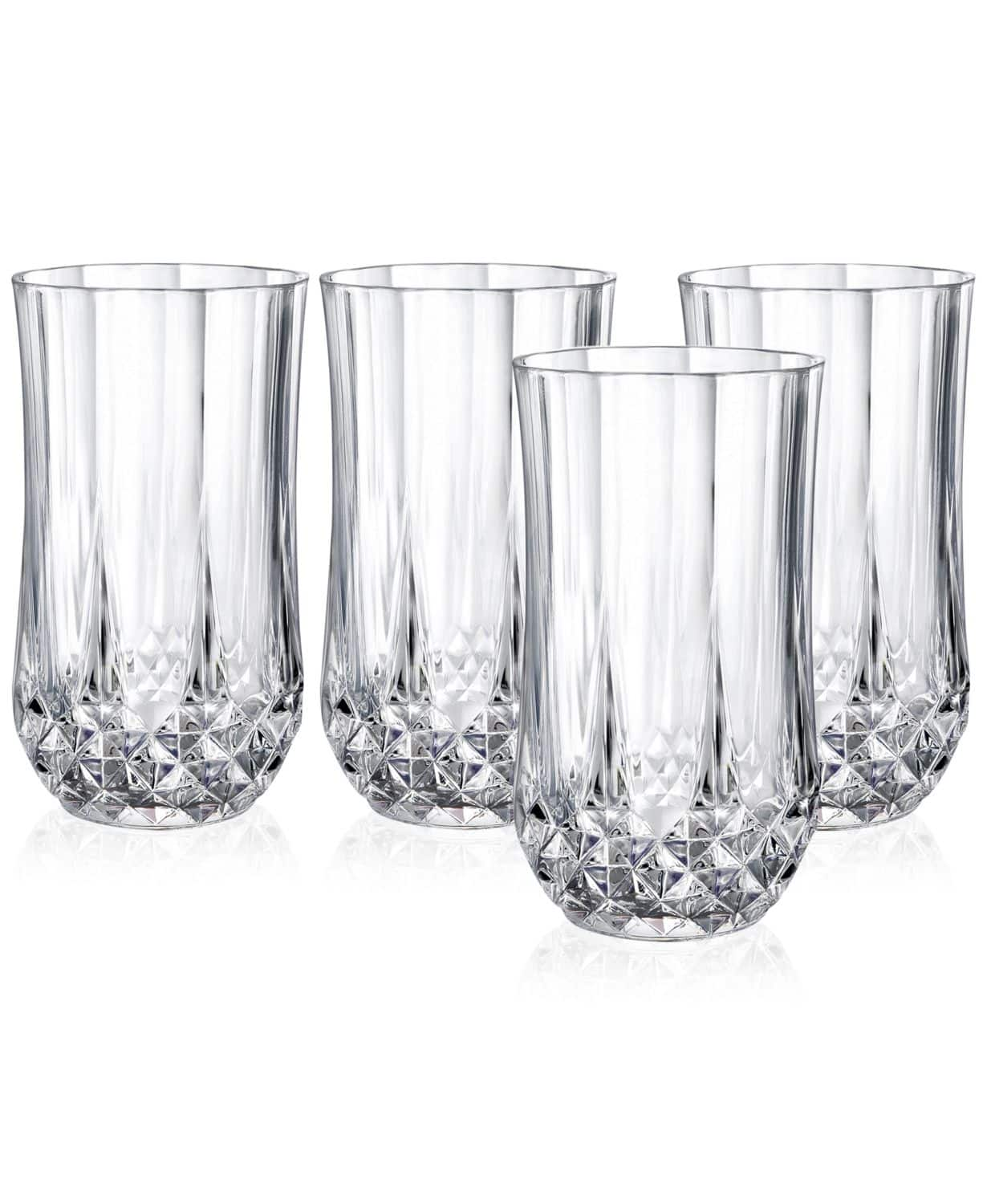 Macys:Cristal D'Arques Lead free crystal - 4Pc Drinkware Sets or Pitcher $9.99. Highball, Goblets, Old Fashion & Wine.
