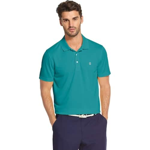 Men's IZOD SwingFlex Grid Performance Golf Polo or Solid Performance Golf Polo $15 @ Kohls.  Free Store Pick Up.