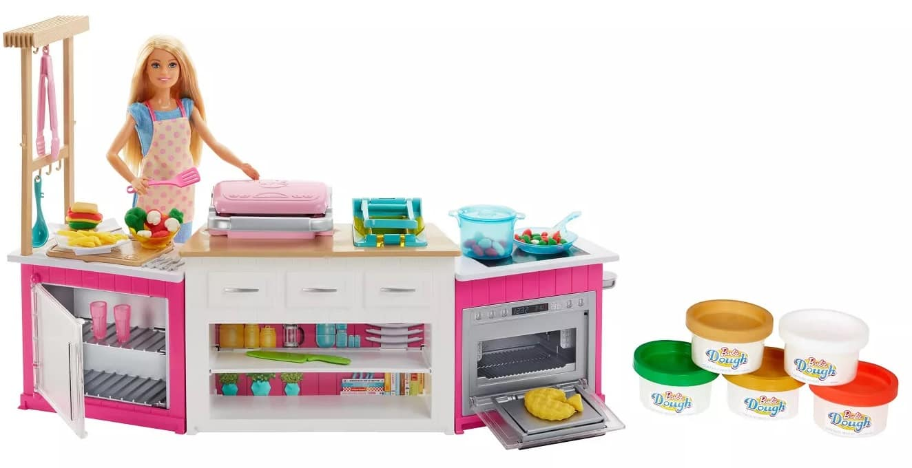 Barbie: Ultimate Kitchen Playset + Farmer Doll and Tractor Playset +  Doll & Horse + Dreamtopia Flying Fairy Doll + $10 Target Gift Card $51.44 w/REDcard Discount &  More.