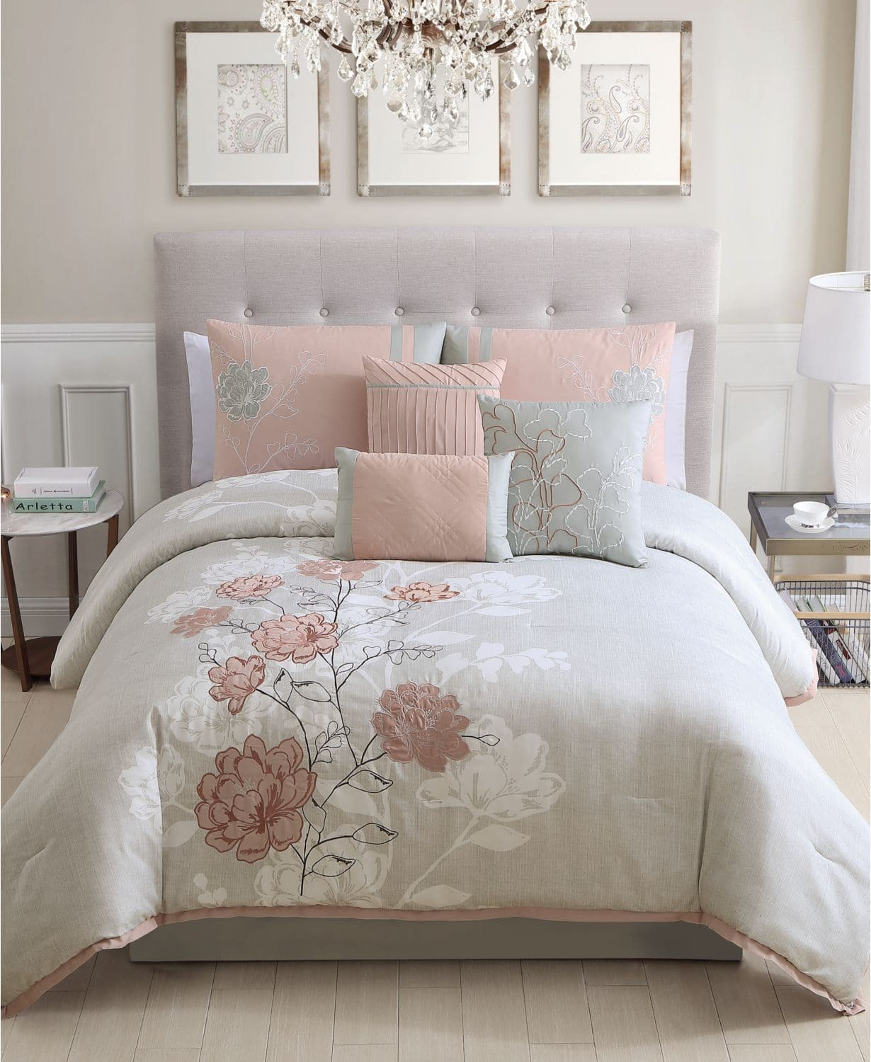 Brissa 7-Pc Comforter Sets in King, Queen or Full Sizes $54.99 All Sizes at Macys