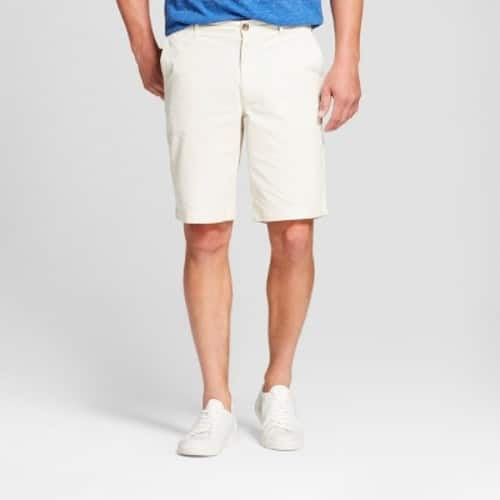 Target: Mens Knit Shorts & Fashion Shorts -Standard Fit, & Big & Tall - $8. Chino,Cargo & Lounge Shorts(138) -Standard Fit, & Big & Tall -$12. Additional 5% off with REDcard.