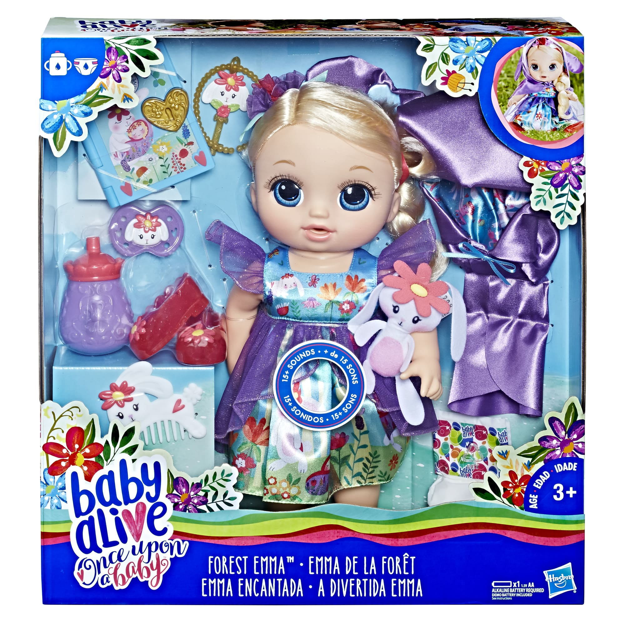 Baby Alive Once Upon a Baby: Forest Tales Forest Emma $15 at Amazon