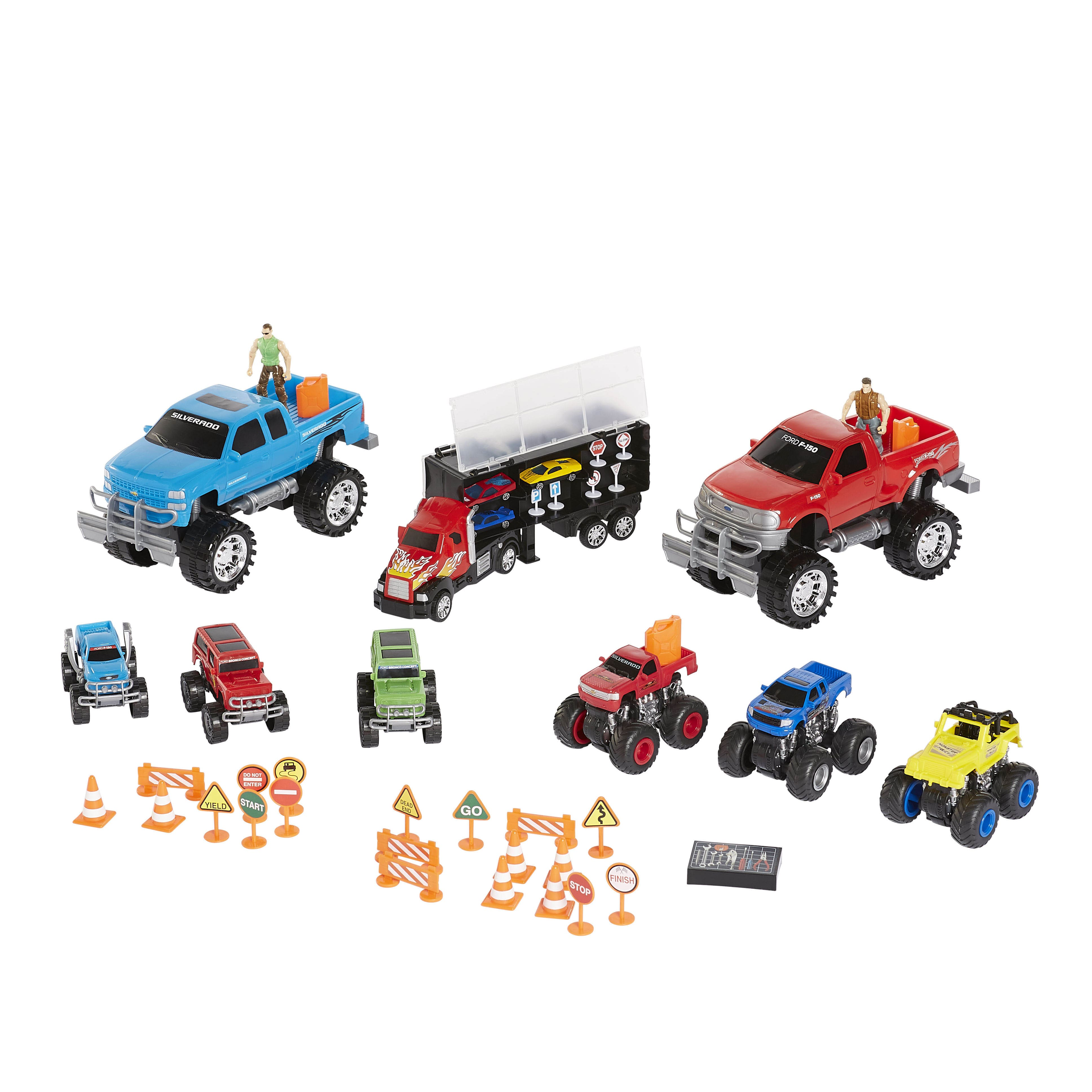 Kid Connection Jumbo Monster Truck Play Set - 44 Pieces $6 62 at Walmart