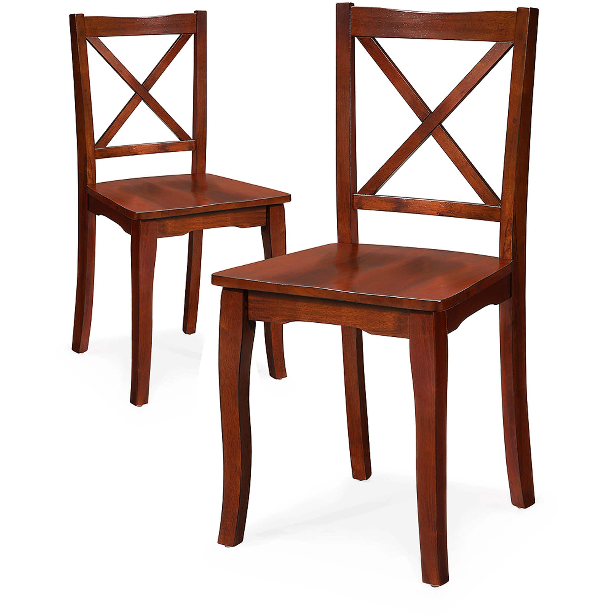 Fantastic 2 Count Better Homes And Gardens Ashwood Road Wood Dining Machost Co Dining Chair Design Ideas Machostcouk
