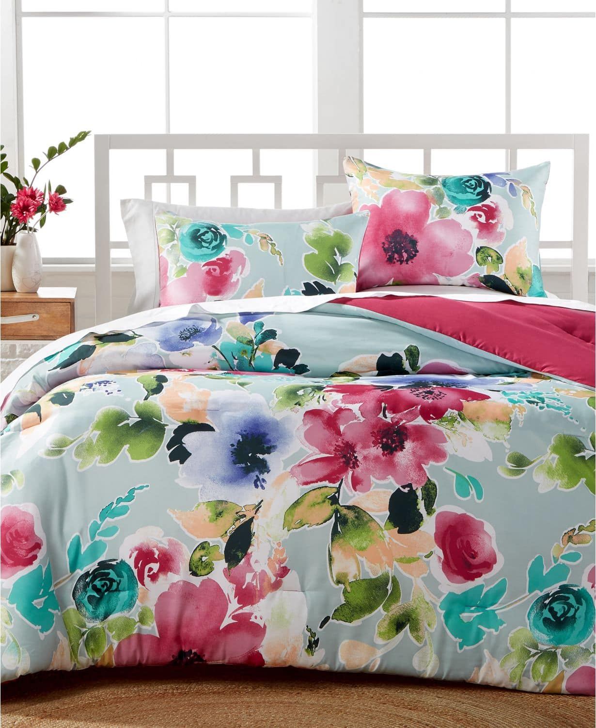 3-pc. Reversible Comforter Sets  - ALL Sizes - Multiple Colors/Patterns - $19.99 at Macys