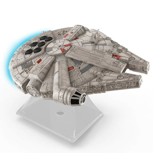 5866c48ebc2 Star Wars: Episode VII The Force Awakens Millennium Falcon Bluetooth  Speaker by iHome $27.99 at Kohls. Free Ship for Card Holders -  Slickdeals.net