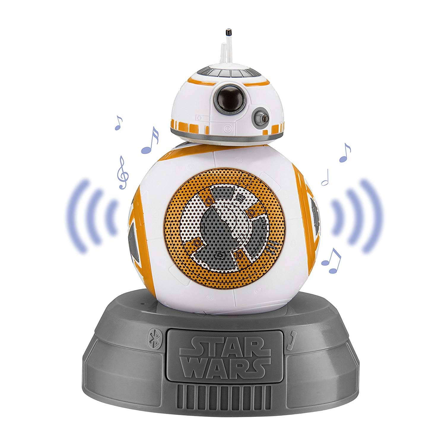 Star Wars BB-8 Bluetooth Speaker by iHome $15.99, Darth Vader or Chewbacca $19.99 at Kohls. Free Ship for Card Holders
