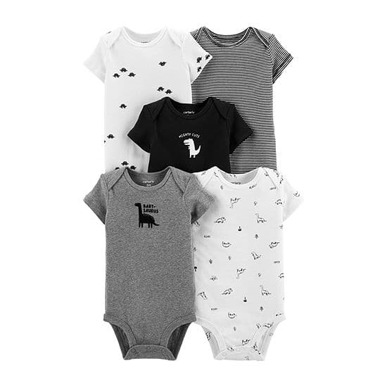 10-ct. Carter's Baby Boys  Bodysuits $17.98 at JCPenney.  Free Store Pickup.