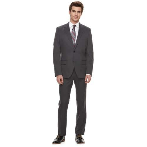 Kohl's Cardholders: Men's Apt. 9 Slim Fit OR Extra-Slim Fit Twill Suit (Jacket & Pants) Multiple Colors  $42 + Free Ship.