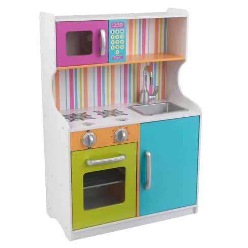 KidKraft Bright Toddler Kitchen $35.99.(REDcard Holders $34.19) KidKraft Classic Kitchenette $31.49 (REDcard Holders $29.92) at Target.
