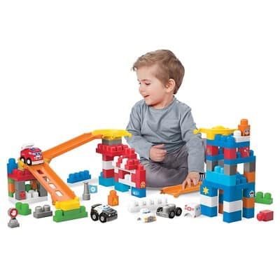 Mega Bloks® First Builders Fast Tracks Deluxe Rescue Center $19.99 (Target REDcard Holders $18.99) Compare to Amazon $44.99