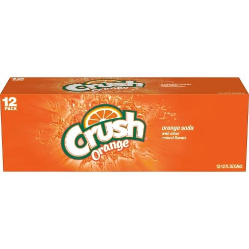 Crush Soda 50% off with Target Cartwheel Coupon. Valid In store and online with Order Pickup. REDcard Holders additional 5% off.