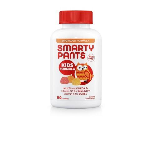 40% off  SmartyPants Complete Vitamins with Target Cartwheel Coupon. In Store or Online with Order Pickup. REDcard additional 5% off