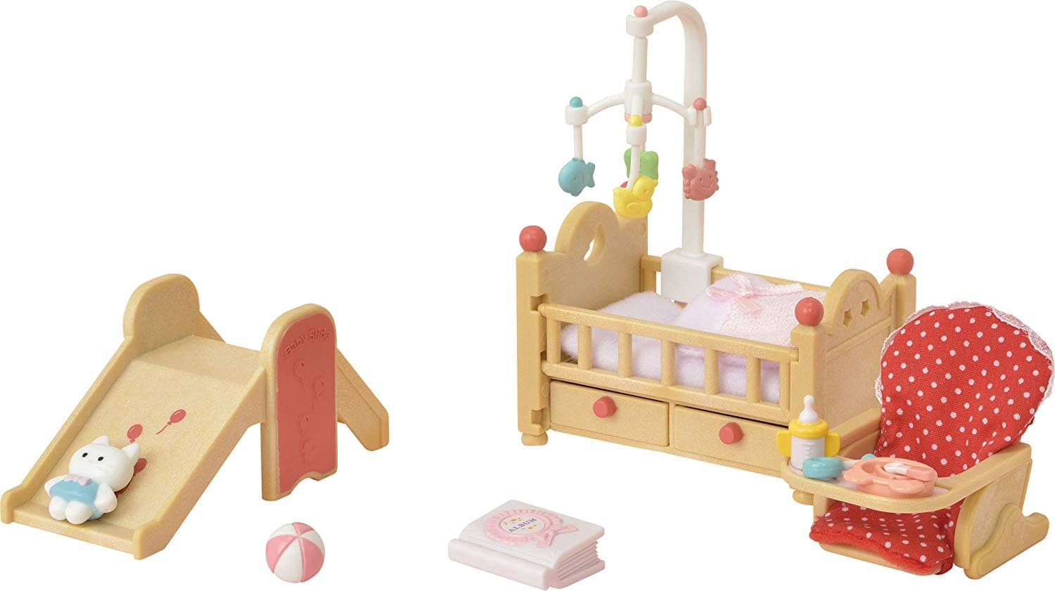 Calico Critters Baby Nursery Set $4.98 at Amazon. 75% off. Lowest Price per CCC. Free Shipping with Prime