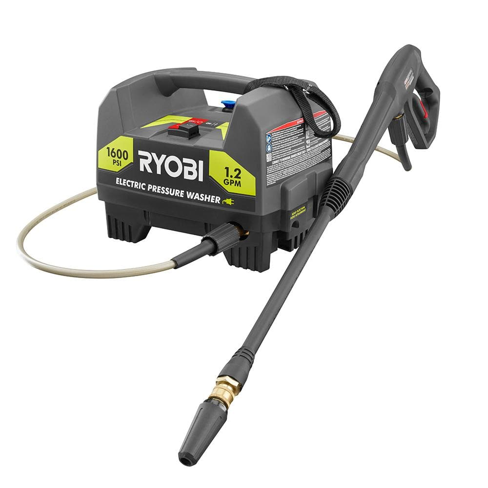 Ryobi 1600 PSI 1.2 GPM Electric Pressure Washer (Certified Pre-owned) $59 ($52 +Shipping)
