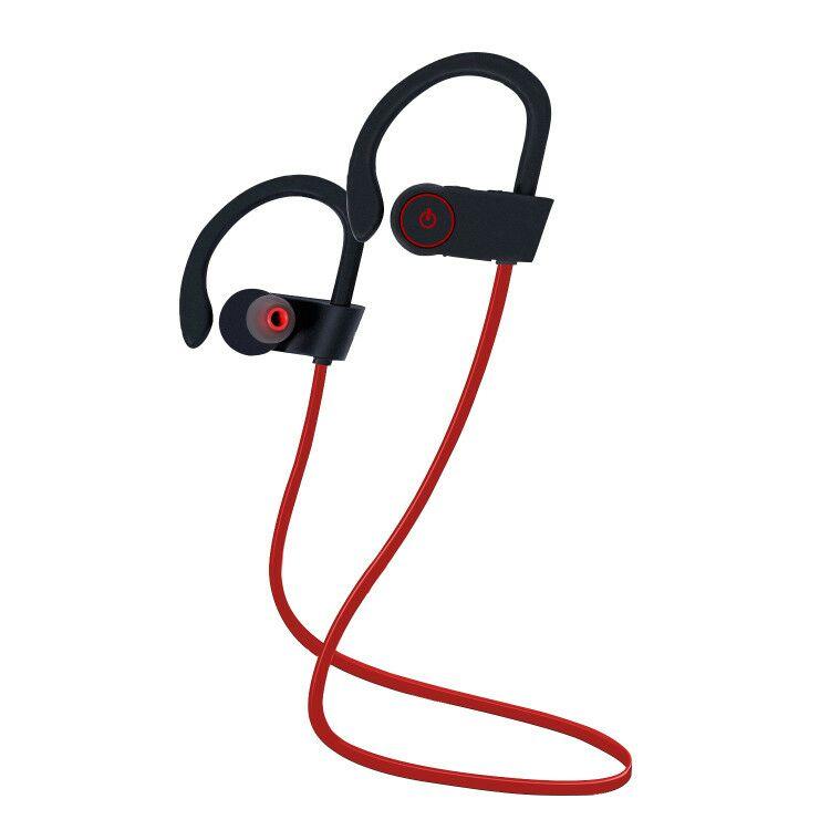 Wireless Bluetooth Headphones (Red) $9.80 (AC)  +FS @ Amazon