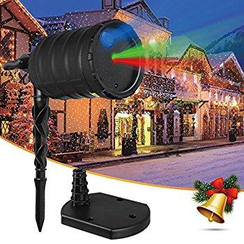 Aurora Christmas Outdoor Laser Light Projector - $26.12 (AC) @ Amazon