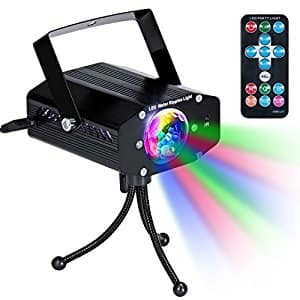 Disco Party Lights - DJ Stage Led Strobe Lights with Remote Control - $14 (AC) @ Amazon $13.99