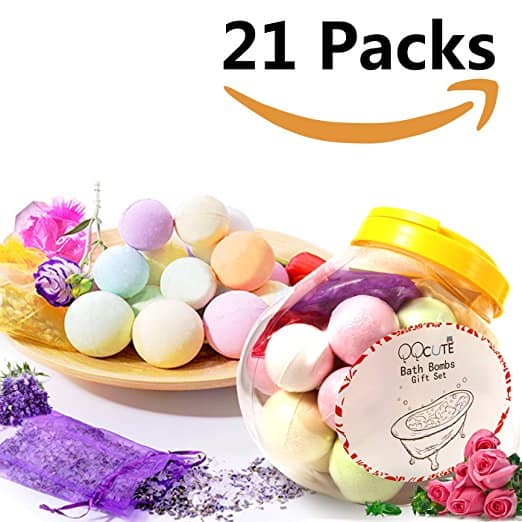 Bath Bombs Gift Set 21 Packs - $15 (AC) @ Amazon