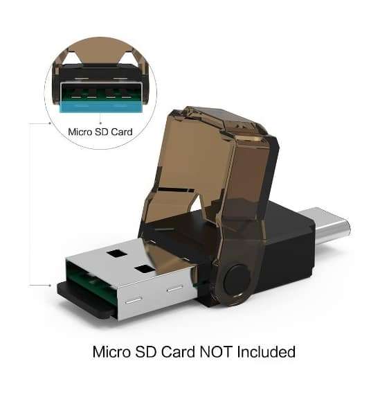 [2-in-1] WEme Type-C (USB 3.1 Gen 1) Card Reader with USB-C Male & USB 3.0 Male Connecter ,Support 32GB Micro SD/ TF/ SDHC /SDXC $7.99 AC @ Amazon