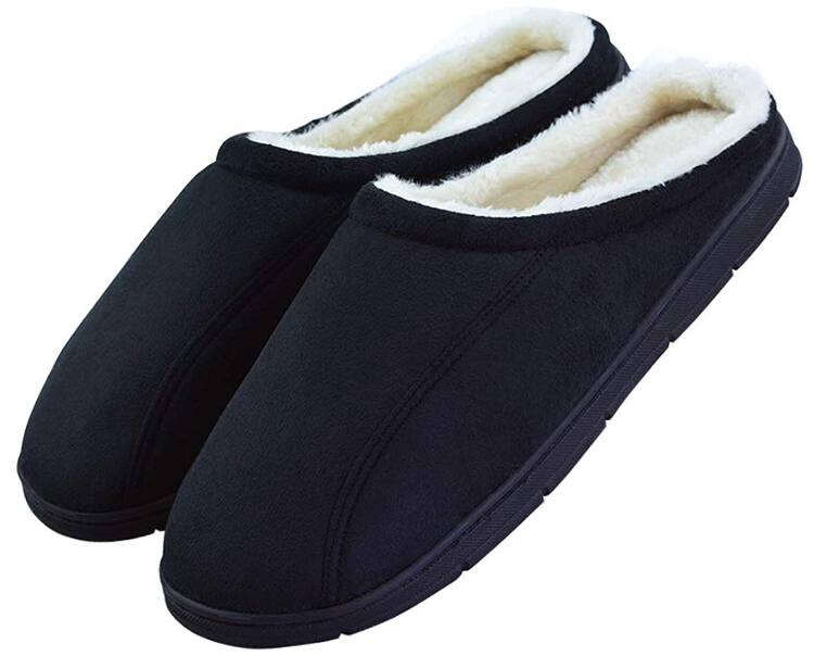 4e2583b01 Men s Slip on Backless Moccasin Memory Foam Bedroom Slippers for  7.99 AC
