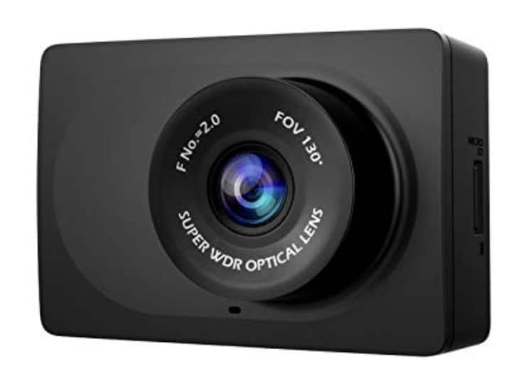 YI Compact Dash Cam 1080p Full HD Black for $24.99 AC
