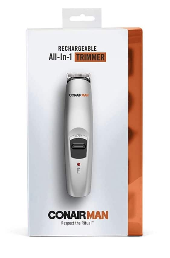 3 Pack - Conair Man Rechargeable All In 1 Trimmer, [GMT189R] 1 ct for $13.15 YMMV