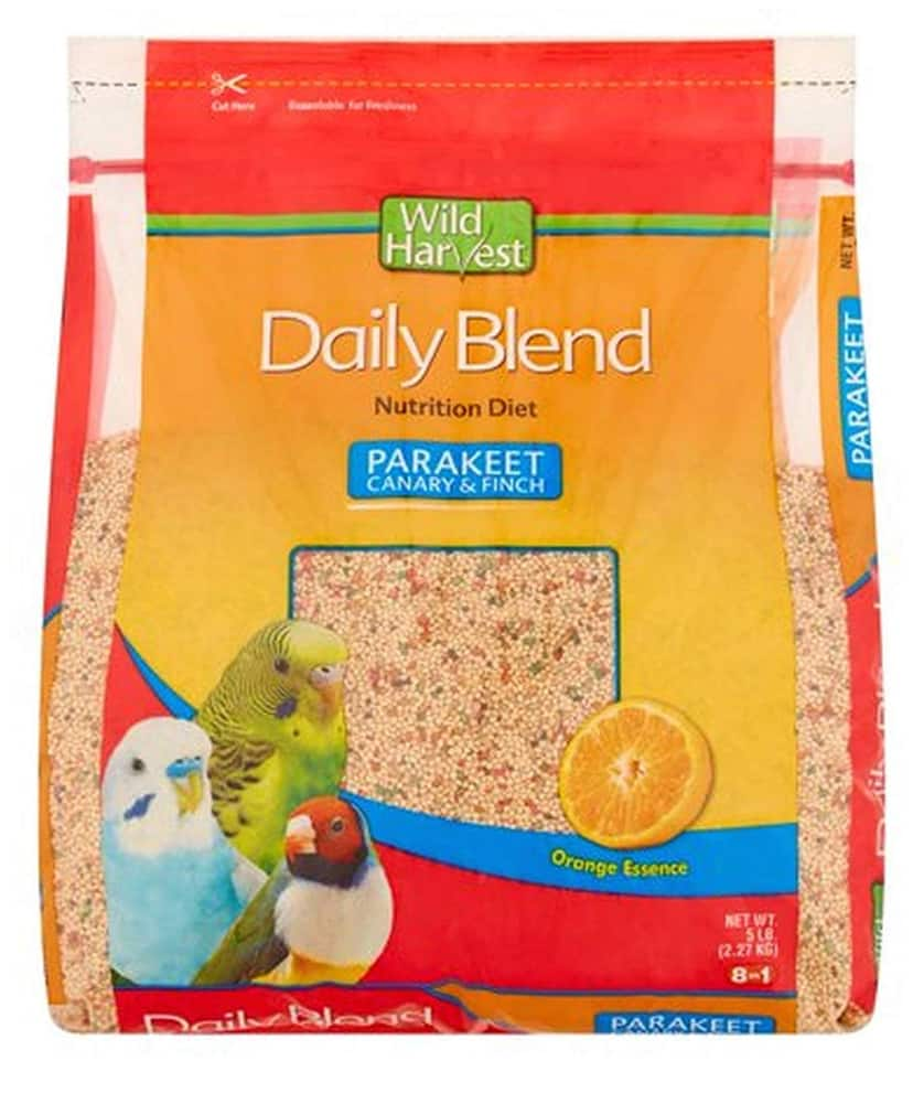 Parakeet food on amazon 5LB bag for $3.59 and prime shipping