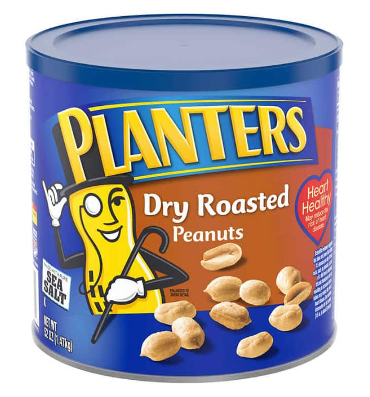 BOGO - Planters Dry Roasted Peanuts, 52 oz @ Costco for $6.49 in warehouse