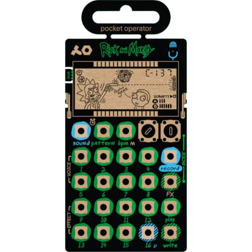 teenage engineering PO-137 Rick and Morty Pocket Operator (Limited-Edition) with free Panasonic Eneloop AAA Rechargeable batteries $89