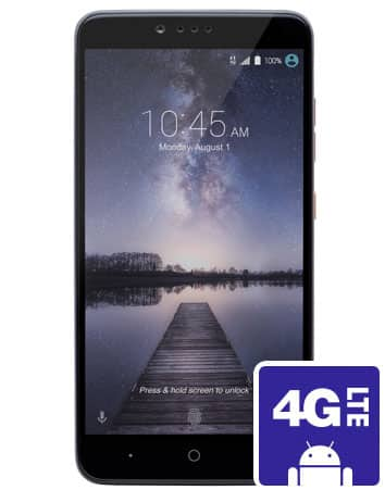 MetroPCS Instore : ZTE Zmax Pro for $70 [Phone is $40 + one month plan minimum $30] Port in needed