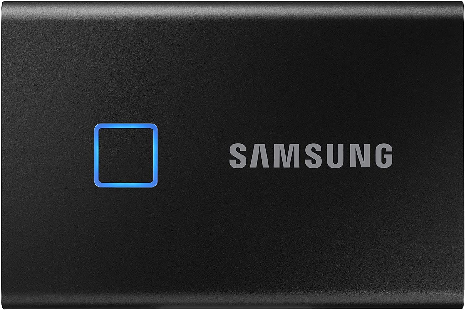 Samsung T7 500GB SSD with touch $89.99