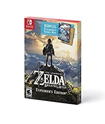 The Legend of Zelda: Breath of the Wild: Explorer's Edition (Nintendo Switch) $49 + Free Shipping