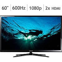 "Costco Wholesale Deal: Samsung 60"" Class 1080p 600Hz Plasma HDTV PN60F5350 @ Costco for $699 or $649"