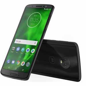 "Fry's Moto G6 32 GB Black 5.7"" FHD+ (12MP +5MP) Octa Core 1.8GHz (Unlocked Smartphone)  $149.99 with Sunday promo code"