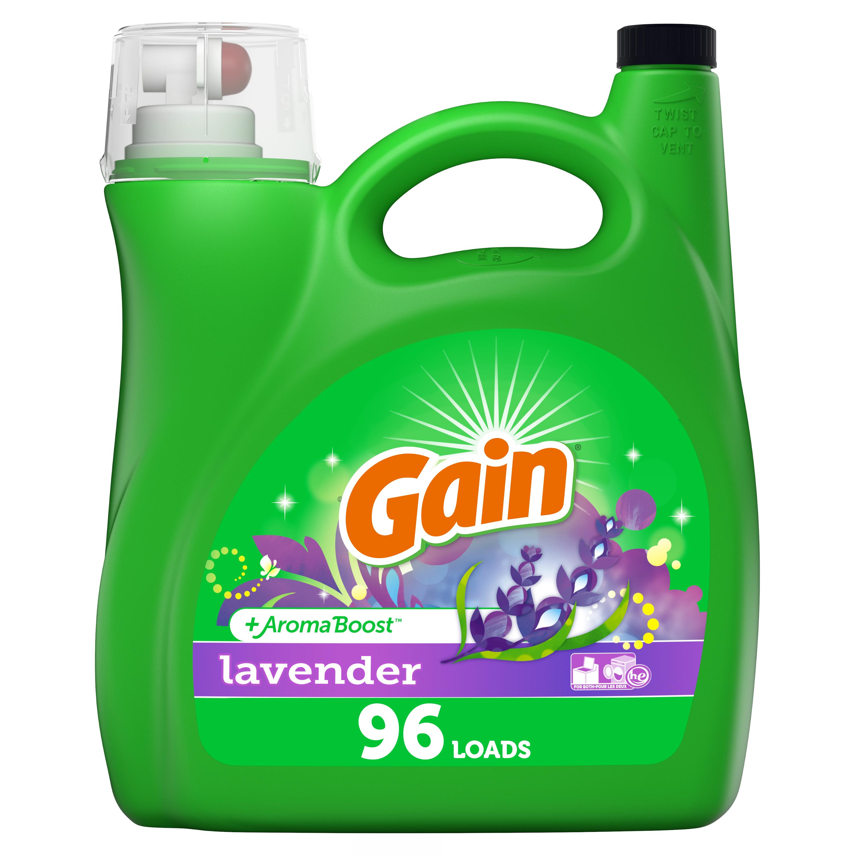 Gain Lavender He, 96 Loads Liquid Laundry Detergent, 150 fl oz - $8.93 @ Walmart + Free Store Pickup